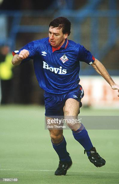 24th February 1990 Division 2 Rick Holden Oldham Athletic