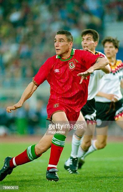 26th April 1995 European Championship Qualifier Germany 1 v Wales 1 Vinny Jones Wales who won 9 Wales caps between 19951997