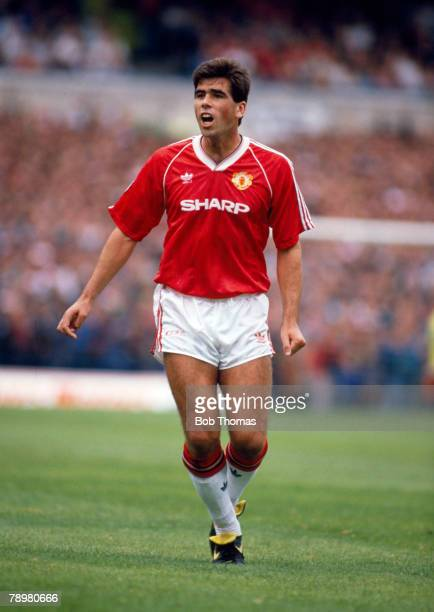 26th August 1989, Division 1, Neil Webb, Manchester Unted 1989-1993, Neil Webb also won 26 England international caps between 1988-1992