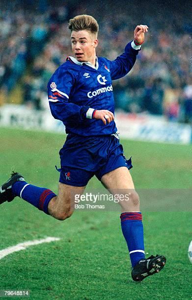 26th January 1992, Graeme Le Saux, Chelsea, (1987-1993 and 1997-2003, Graeme Le Saux won 35 England international caps between 1994-1999