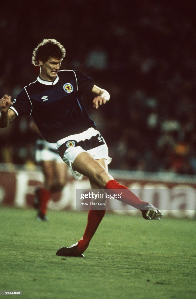 Sport. Football. pic: 27th April 1987. Gary Gillespie, Scotland. : News Photo
