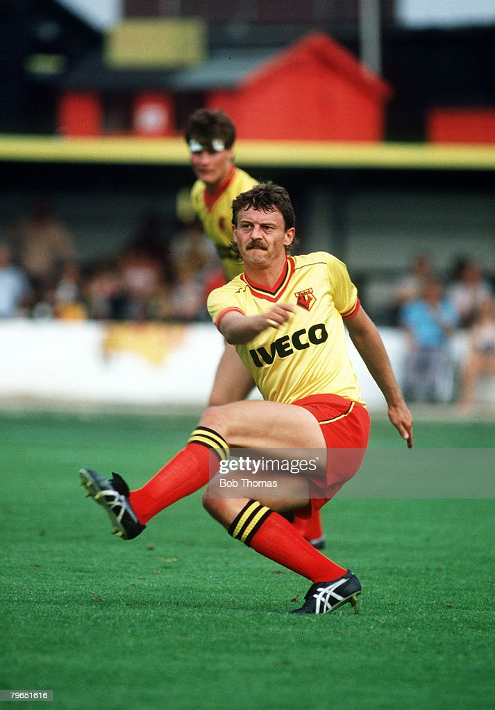 Sport, Football, pic: 27th August 1983, Division One, Watford 2 v Coventry City 3, Ian Bolton, Watford : ニュース写真