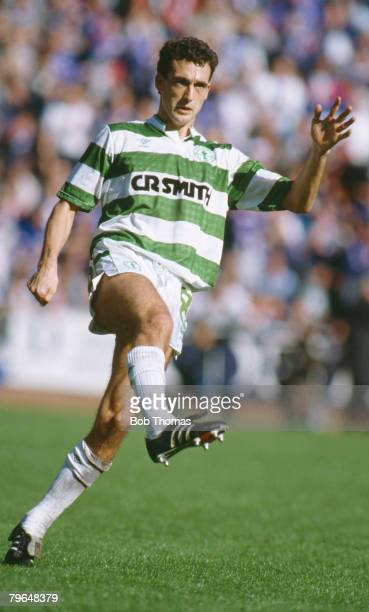 27th August 1988, Scottish Premier Division, Paul McStay, Celtic midfielder, Paul McStay won 76 Scotland international caps between 1984-1996