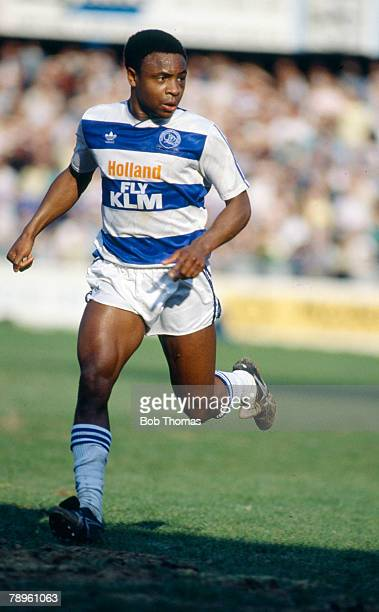 27th March 1989 Division 1 Paul Parker Queens Park Rangers defender who won 19 England international caps between 19891994
