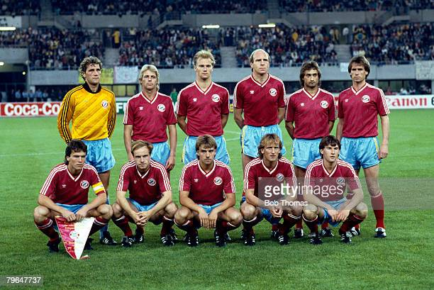 27th May 1987 European Cup Final in Vienna Porto 2 v Bayern Munich 1 Bayern Munich team group captained by Lothar Matthaus