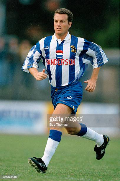 28th July 1994 Preseason Friendly Andy Sinton Sheffield Wednesday who won 12 England international caps between 19921994