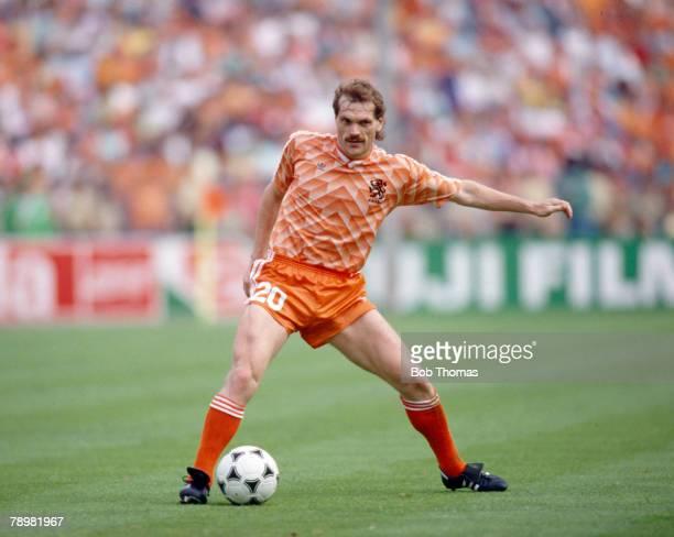 28th June 1988 European Championship Final in Munich Holland 2 v USSR 0 Jan Wouters Holland