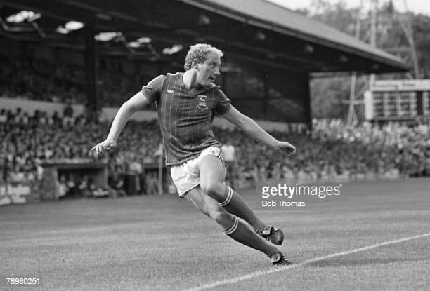 29th August 1981 Division 1 Ipswich Town 3 v Sunderland 3 Ipswich Town striker Alan Brazil in action