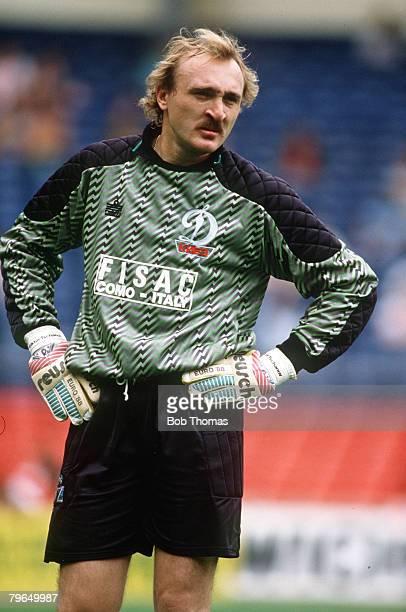 29th July 1989 The Makita International at Wembley Liverpool 2 v Dinamo Kiev 0 Viktor Chanov Dinamo Kiev