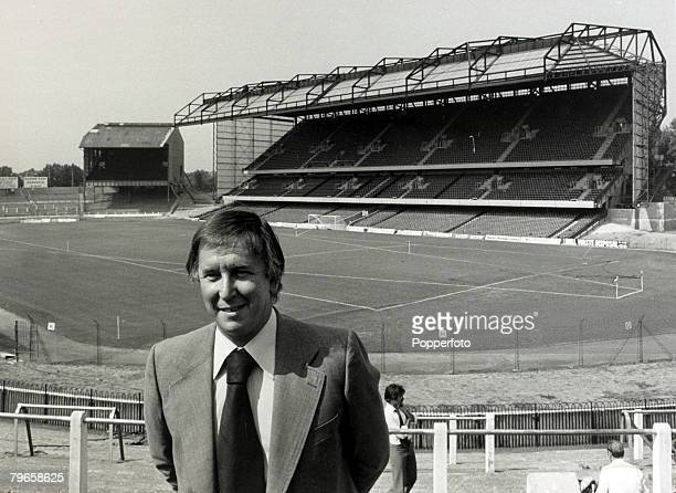 2nd July 1976, Chelsea Chairman Brian Mears pictured at Stamford Bridge