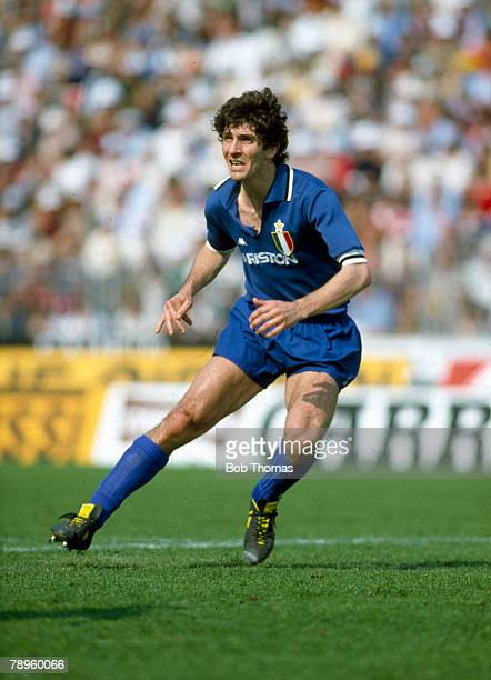 2nd May 1982 Italian League Serie A Paolo Rossi Juventus striker Paolo Rossi was a World Cup winner with Italy in 1982 and won 48 international caps...