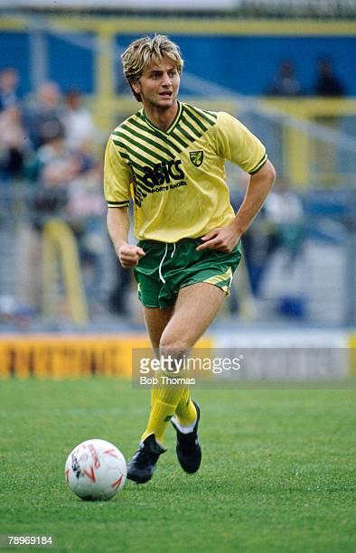 30th September 1989 Tim Sherwood Norwich City midfielder 19891993 Tim Sherwood was to win 3 England international caps in 1999