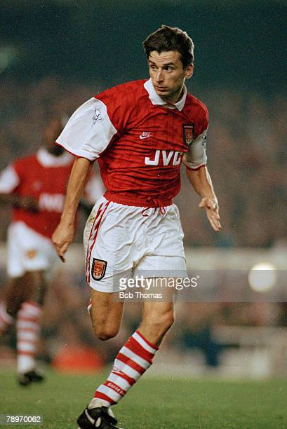 31st August 1994 FA Carling Premiership Alan Smith Arsenal striker who won 13 England international caps between 19891992