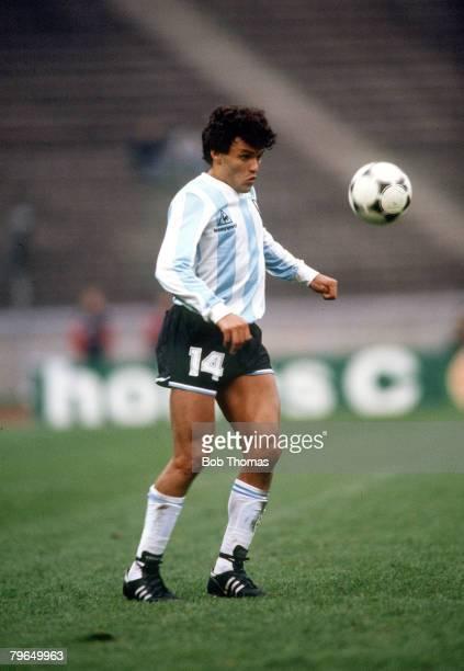 31st March 1988 West Berlin Argentina 2 v USSR Nestor Clausen Argentina