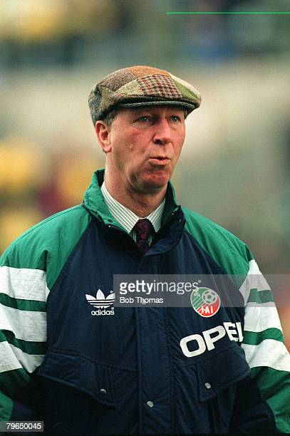 31st May 1993 World Cup Qualifier in Dublin Republic of Ireland v Northern Ireland Republic of Ireland Manager Jack Charlton