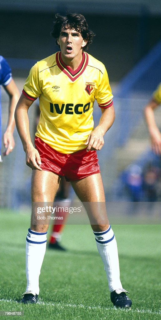 BT Sport, Football, pic: 3rd September 1983, Jan Lohman, Watford : News Photo