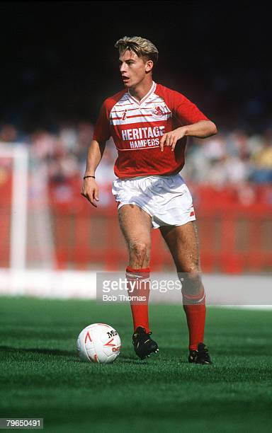 3rd September 1988 Division 1 Middlesbrough v Norwich City Colin Cooper Middlesbrough Colin Cooper a central defender has had two spells at...