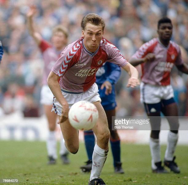 4th April 1988, Division 2, Aston Villa 1 v Oldham Athletic 2, David Platt, Aston Villa