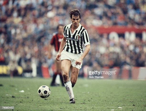 4th October 1981 Italian League Serie A Marco Tardelli Juventus
