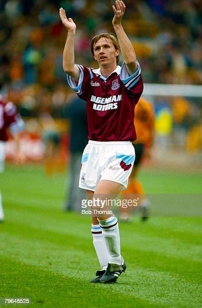 4th October 1992, FA, Premier League, Wolverhampton Wanderers 0 v West Ham United 0, Kevin Keen, West Ham United