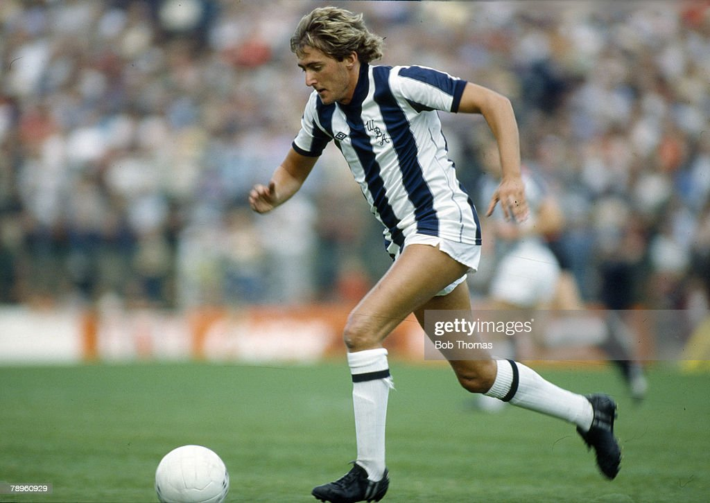 Sport. Football. pic: 4th September 1982. Division 1. Gary Owen, West Bromwich Albion. : News Photo