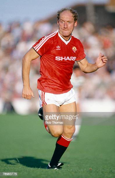 5th August 1984 PreSeason Friendly in Ireland Alan Brazil Manchester United who also won 13 Scotland international caps between 19801983