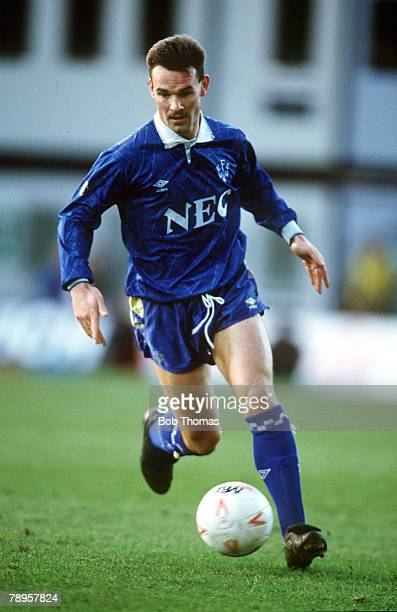 5th January 1991 Charlton Athletic 1 v Everton 2 Peter Beagrie Everton
