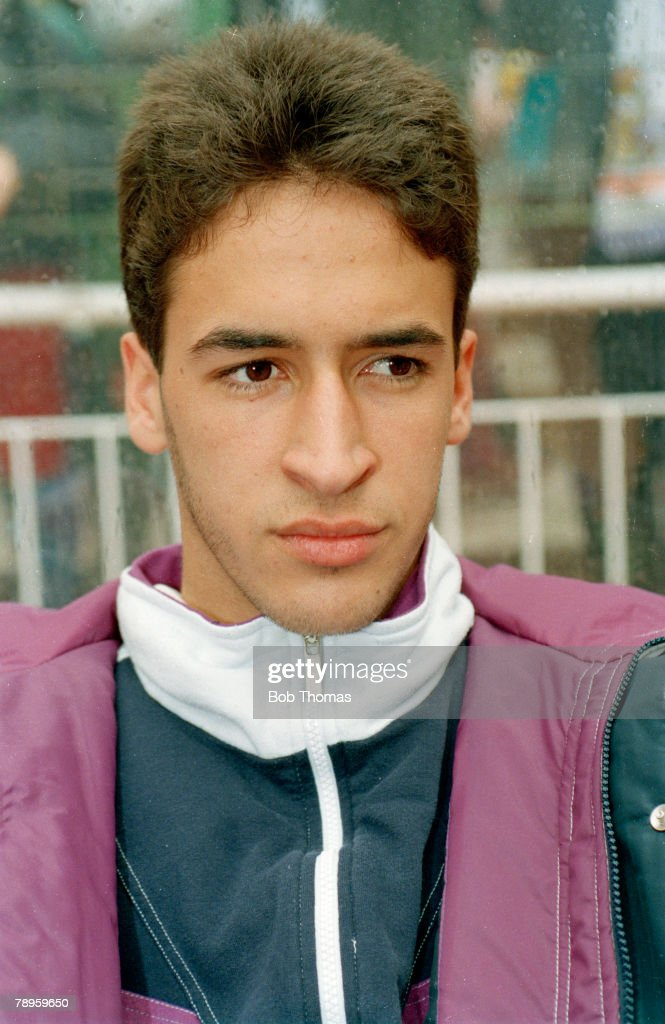 Sport. Football. pic: 5th March 1995. Spanish League. Raul, Real Madrid's young star. : News Photo