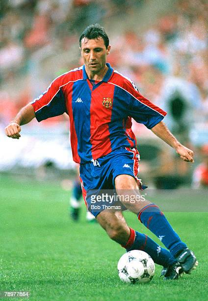6th August 1994 Pre Season Friendly Hristo Stoichkov Barcelona who won 83 Bulgaria international caps 19871989