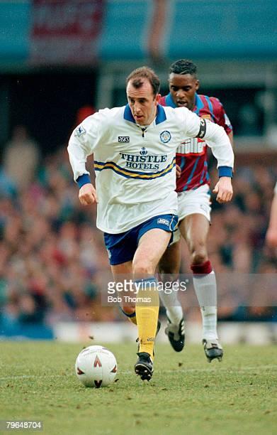 6th February 1994 FA Carling Premiership Aston Villa 1 v Leeds United 0 Gary McAllister Leeds United Gary McAllister played for Leeds 19901995 and...