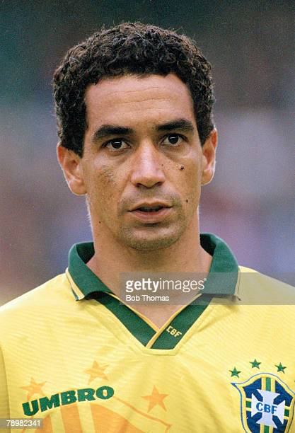 6th June 1996 Umbro Cup at Goodison Park Brazil 3 v Japan 0 Zinho Brazil