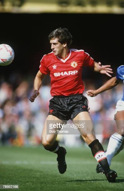 6th September 1986, Division 1, Leicester City 1 v Manchester United 1, Graeme Hogg, Manchester United
