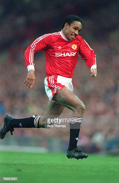 7th December 1991 Paul Ince Manchester United 19891995 Paul Ince won 53 England international caps between 19932000