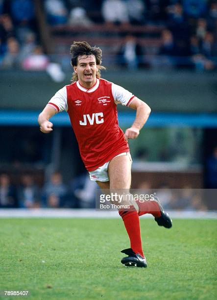 7th September 1985 Division 1 Coventry City 0 v Arsenal 2 Charlie Nicholas Arsenal striker who also won 20 Scotland international caps between...