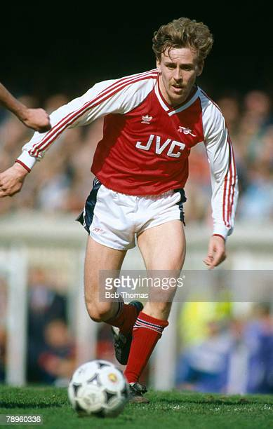 8th April 1989 Division 1 Kevin Richardson Arsenal midfielder 19871990
