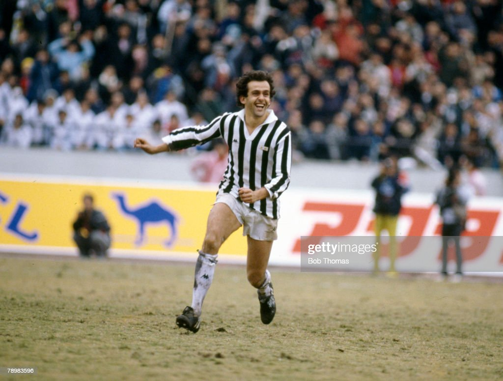 8th December 1985, World Club Championship in Tokyo, Juventus beat... News  Photo - Getty Images