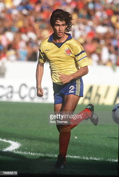 8th July 1989 Andres Escobar Colombia