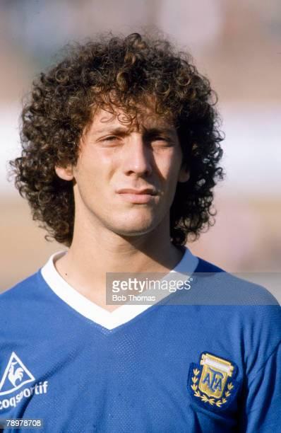 8th July 1989 Copa America in Uruguay Pedro Troglio Argentina
