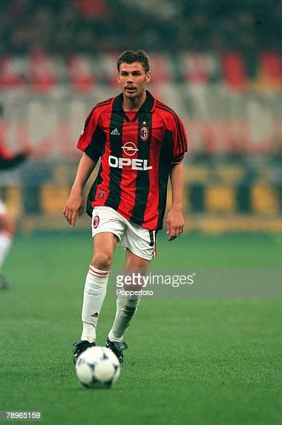 8th November 1998, Italian League Serie A, AC Milan 2 v Inter Milan 2, Zvonimir Boban, AC Milan