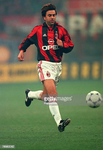 8th November 1998 Italian League Serie A Milan ACMilanv Inter Milan Alessandro Costacurta ACMilan Alessandro Costacurta first played for ACMilan in...