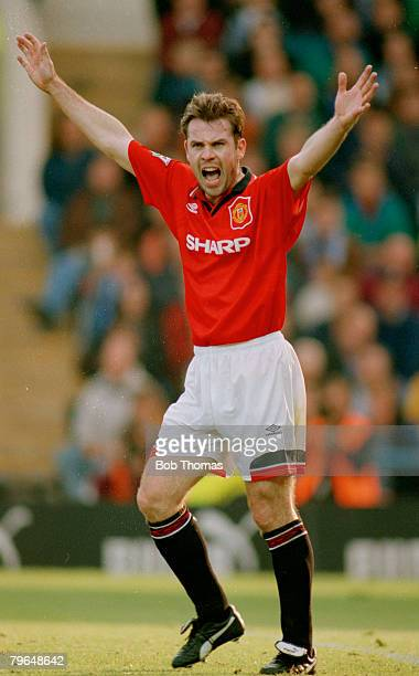 8th October 1994 Premiership Sheffield Wednesday 1 v Manchester United 0 Brian McClair Manchester United Brian McClair played for Manchester United...