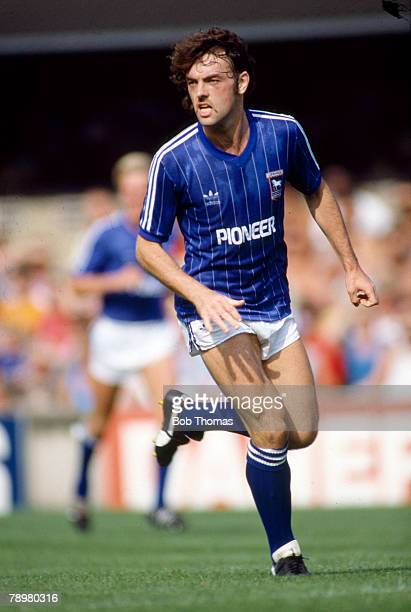 August 1983 Division 1 John Wark Ipswich Town long serving Scottish international who had 3 spells with the East Anglia club