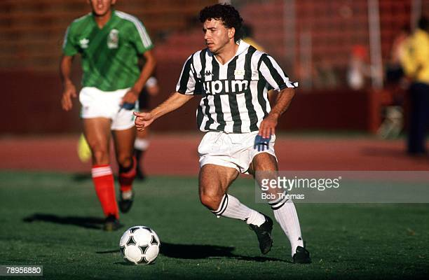 August 1989 Marlboro Cup Los Angeles USA Rui Barros Juventus