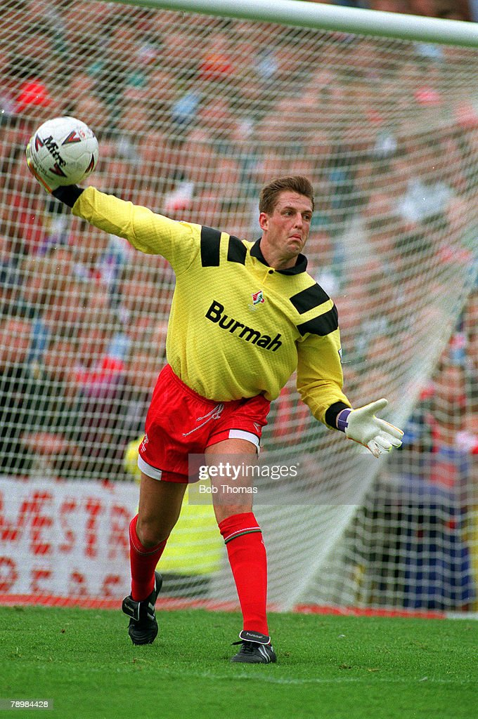 Sport. Football. pic: August 1993. Fraser Digby, Swindon Town goalkeeper. : News Photo