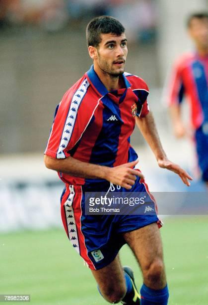August 1994 Josep Guardiola Barcelona