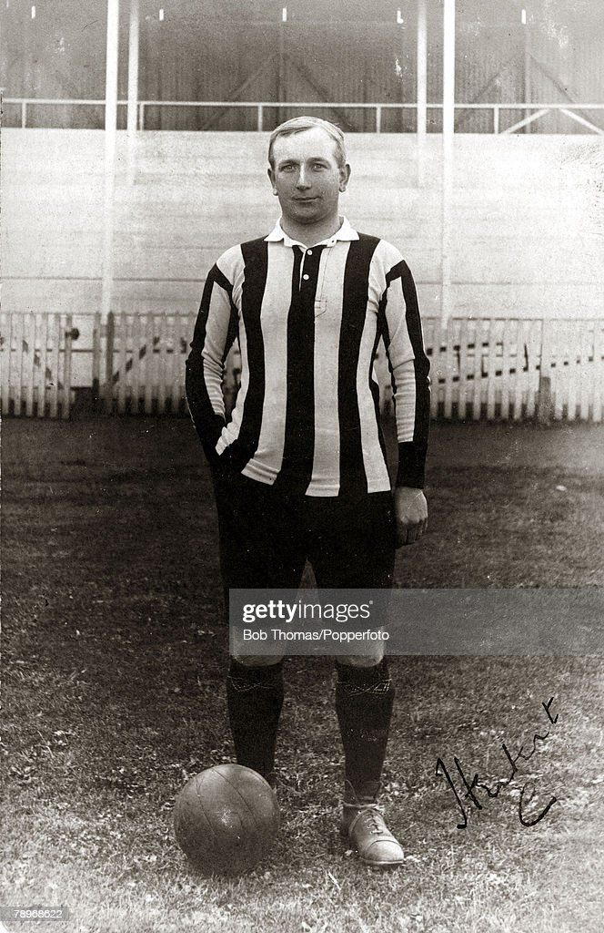Sport. Football. pic: circa 1907. Herbert Chapman, Northampton Town Player-Manager. He rejoined Northampton Town as Player Manager in the twilight of an unexceptional playing career and in his 2nd season led the Cobblers to the Southern League Championshi : News Photo