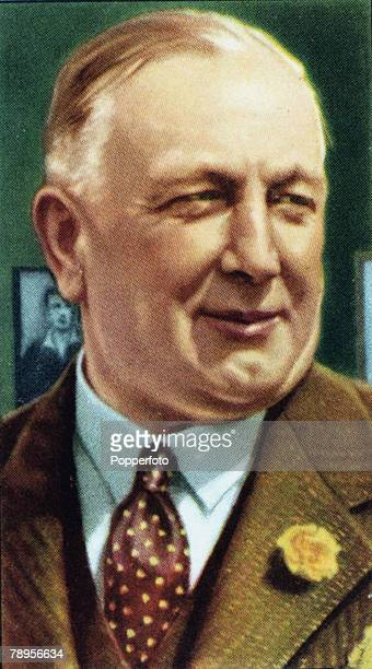 circa 1930 Herbert Chapman Arsenal Manager from 19251934 who made the club the top side in the country