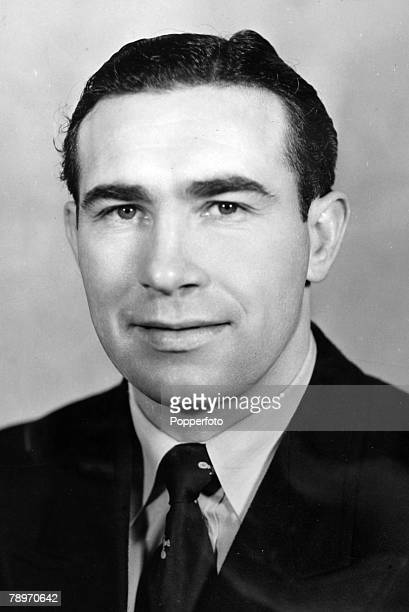 circa 1950 Alf Ramsey Tottenham Hotspur full back who went on to win the 1966 World Cup as England Manager