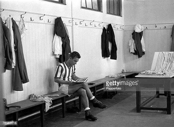 circa 1963 Sunderland 's Brian Clough in the Roker Park dressing room Brian Clough who was signed from Middlesbrough played for Sunderland from...