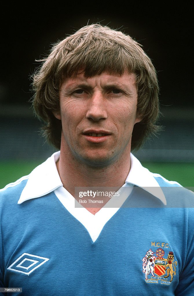 Sport, Football, pic: circa 1970's, Colin Bell, Manchester City, who played for the club from 1966-1979 : News Photo